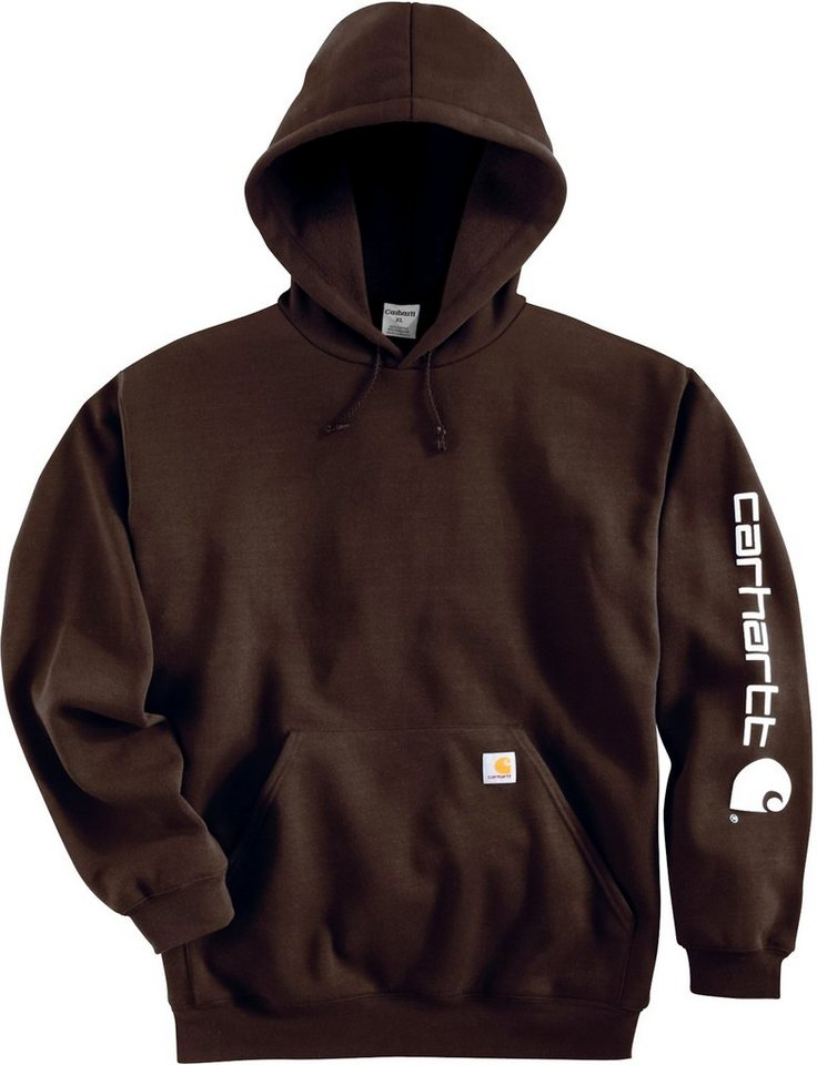 Sweatshirt »K288« in dunkelbraun