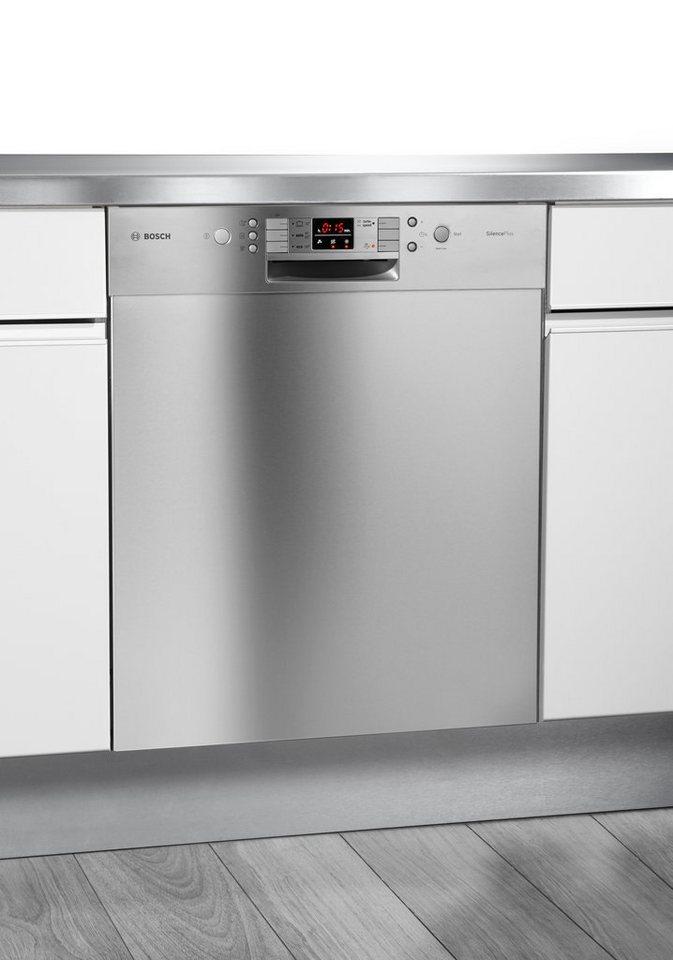 Bosch unterbau geschirrspuler smu53l65eu a 75 liter for Geschirrspüler bosch unterbau