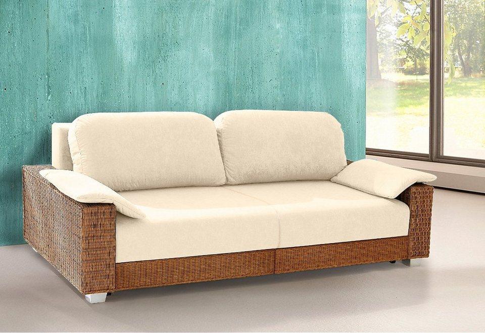 rattan schlafsofa m belideen. Black Bedroom Furniture Sets. Home Design Ideas