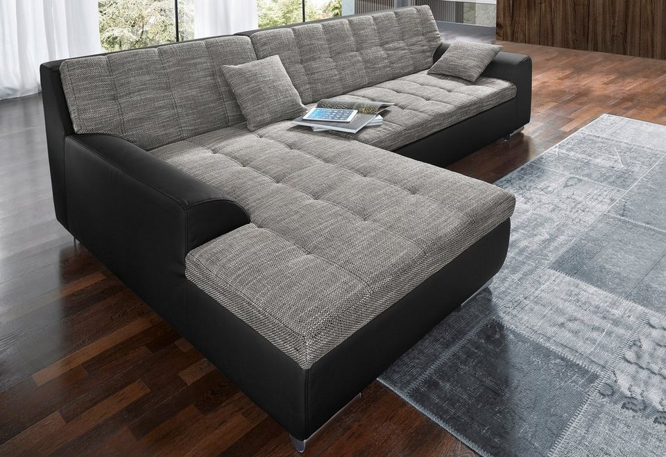 Domo Collection Ecksofa Wahlweise Mit Bettfunktion Online Kaufen Otto