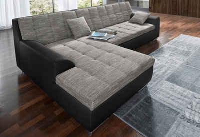 xxl polsterecke wahlweise mit bettfunktion - Sofa Kaufen