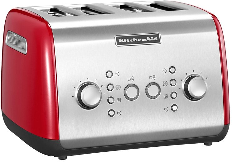 kitchenaid 4 scheiben toaster 5kmt421eer 1800 watt empire rot online kaufen otto. Black Bedroom Furniture Sets. Home Design Ideas