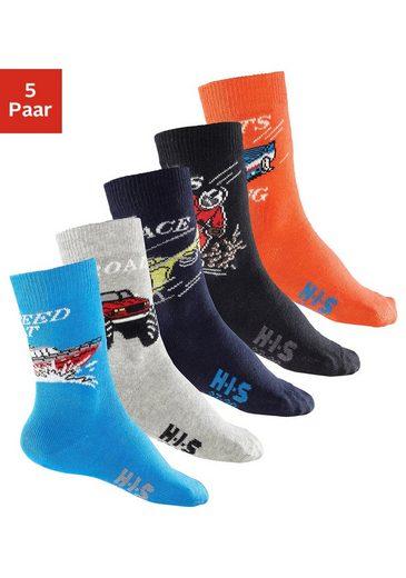 H.I.S Socken (5-Paar) mit Automotiven