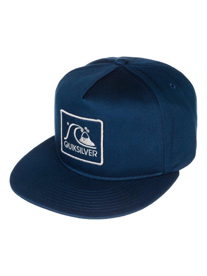 Quiksilver Baumwoll-Snapback Cap »Graf« in navy blazer