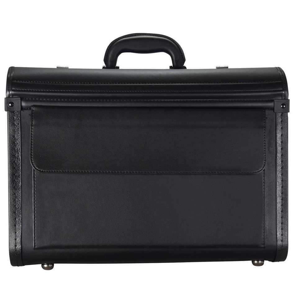 d & n Business & Travel Pilotenkoffer 46 cm in schwarz