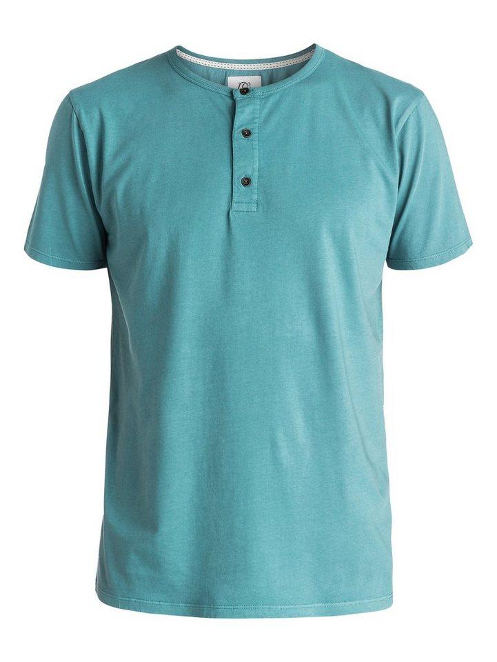 Quiksilver Kurzarm-T-Shirt »Merton« in bluestone