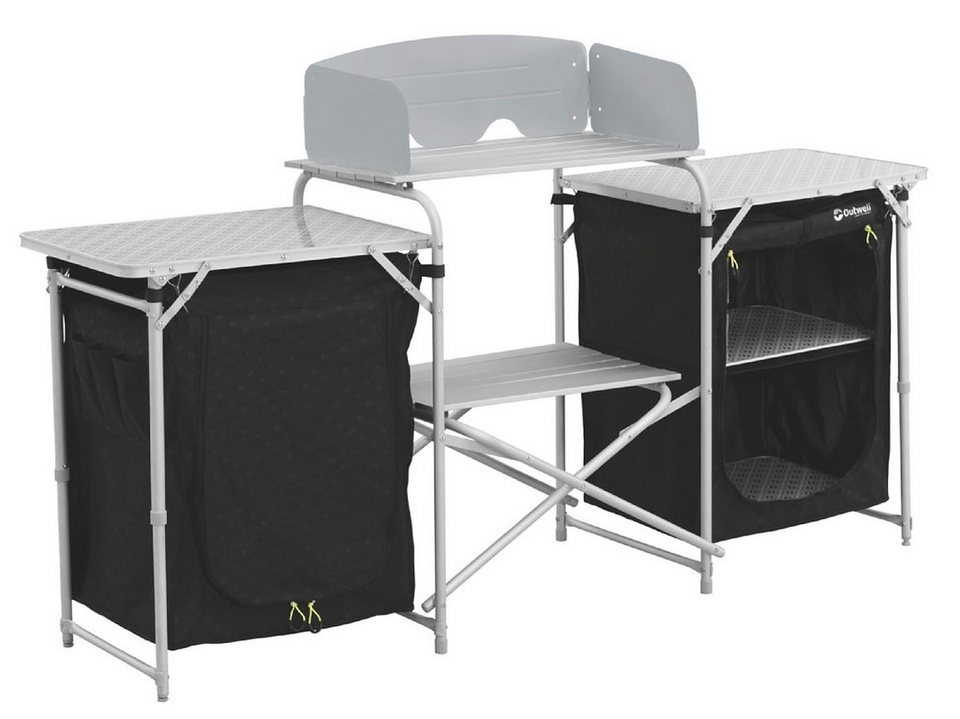 Outwell Camping-Schrank »Camrose Kitchen Table« in schwarz