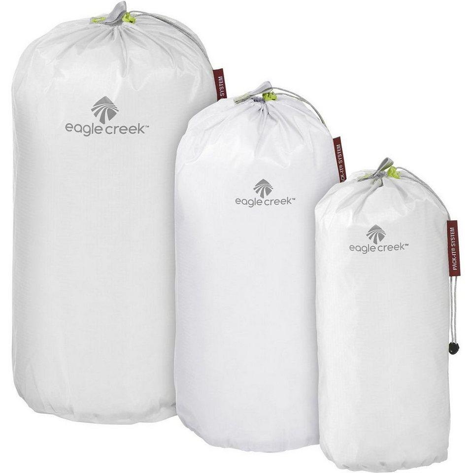 Eagle Creek Pack-It Sport- und Freizeittasche »Specter Stuffer Set S/M/L« in weiß