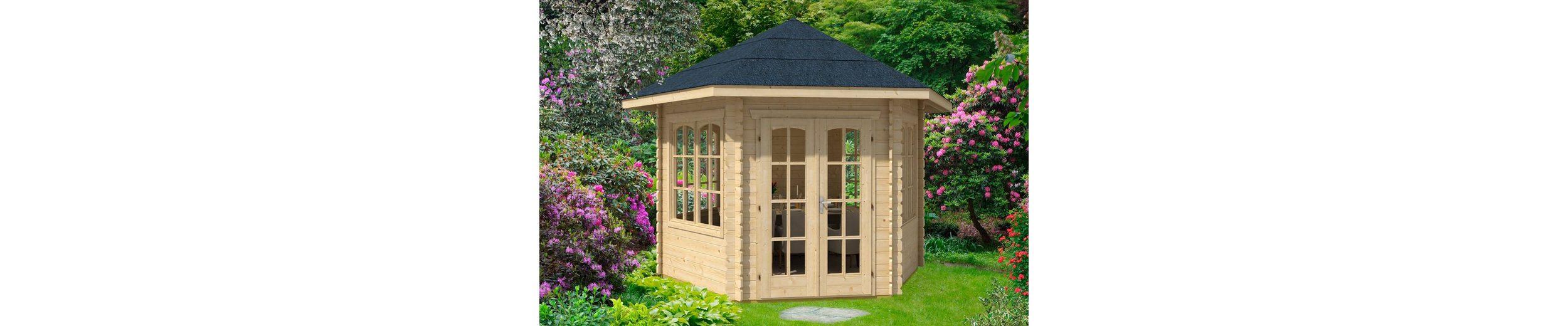 Holzpavillon »Madeira 3«, BxT: 350x303 cm