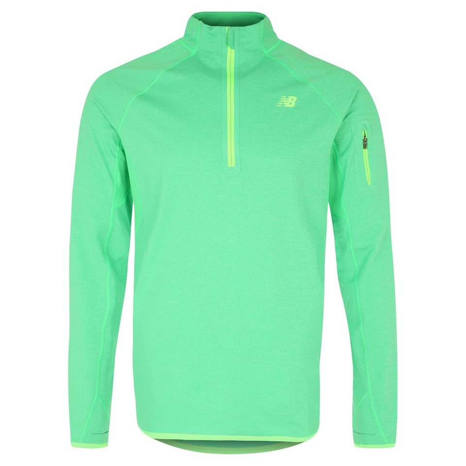 NEW BALANCE Ultra Laufshirt Herren in grün