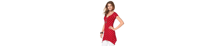 Steckdose Neue Stile Räumungsverkauf Online Aniston Longshirt Freies Verschiffen 2018 Unisex Online-Shopping-Spielraum Spielraum Erstaunlicher Preis cKJJ7