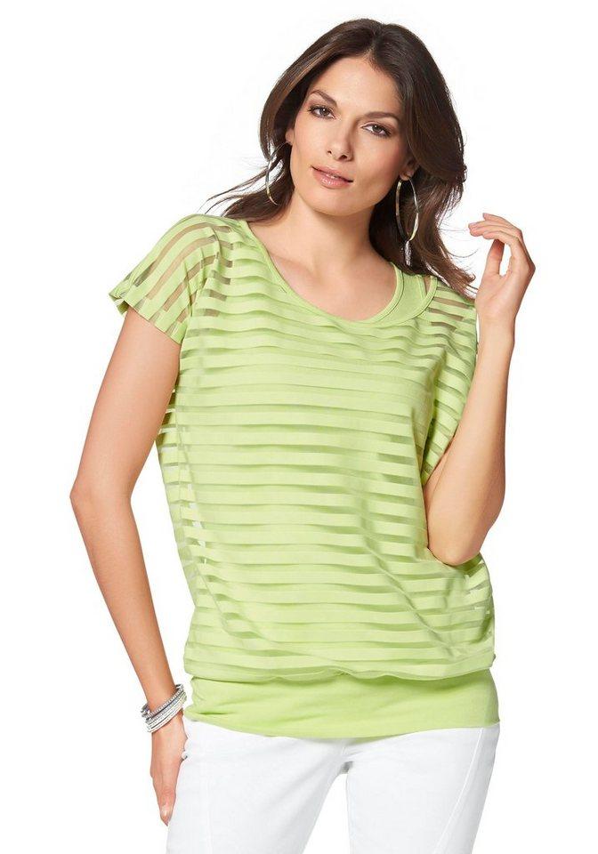 Vivance 2-in-1-Shirt in kiwi