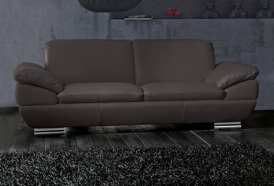 calia italia 2 5 sitzer ledersofa est 269 kaufen otto. Black Bedroom Furniture Sets. Home Design Ideas