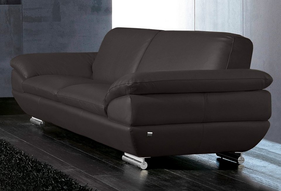 calia italia 3 sitzer ledersofa est 269 kaufen otto. Black Bedroom Furniture Sets. Home Design Ideas