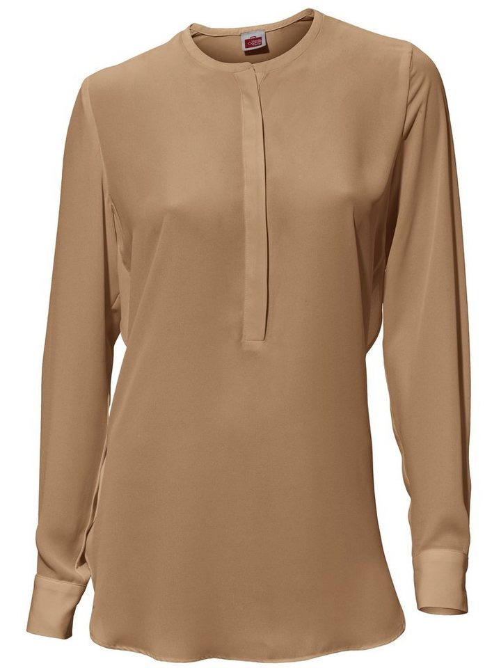 Bluse in camel