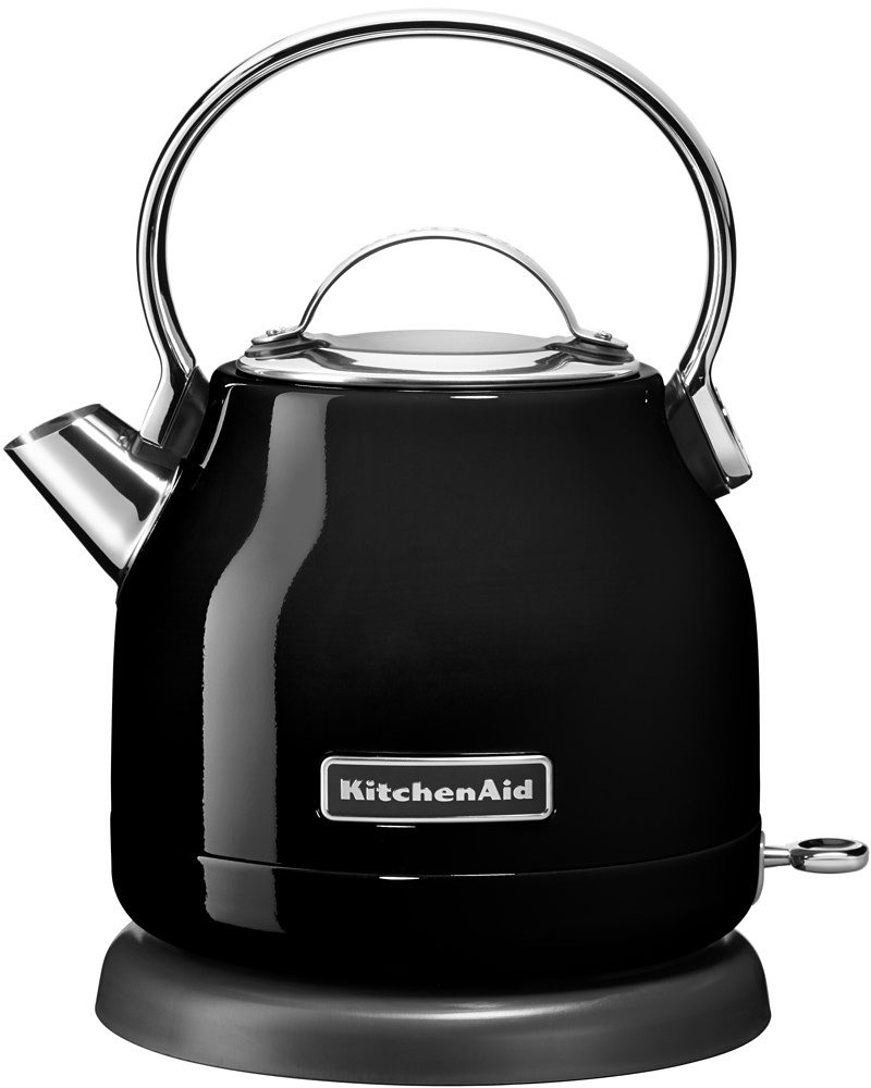 KitchenAid Wasserkocher »5KEK1222EOB«, 1,25 Liter, 2200 Watt, onyx schwarz