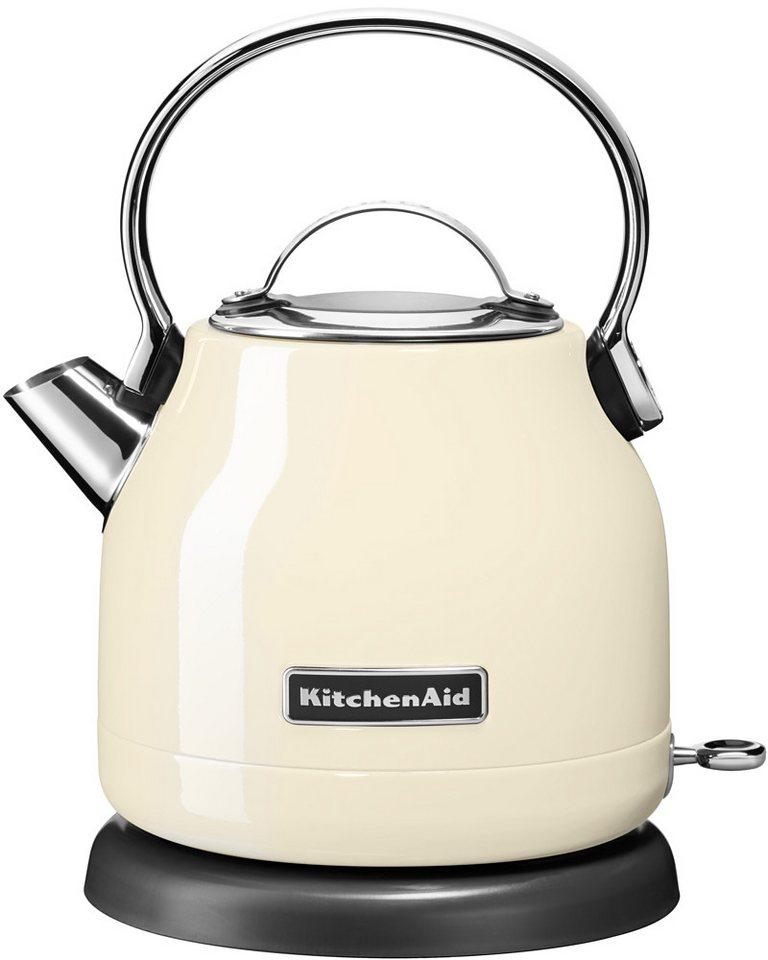 KitchenAid® Wasserkocher »5KEK1222EAC«, 1,25 Liter, 2200 Watt, crème in crème