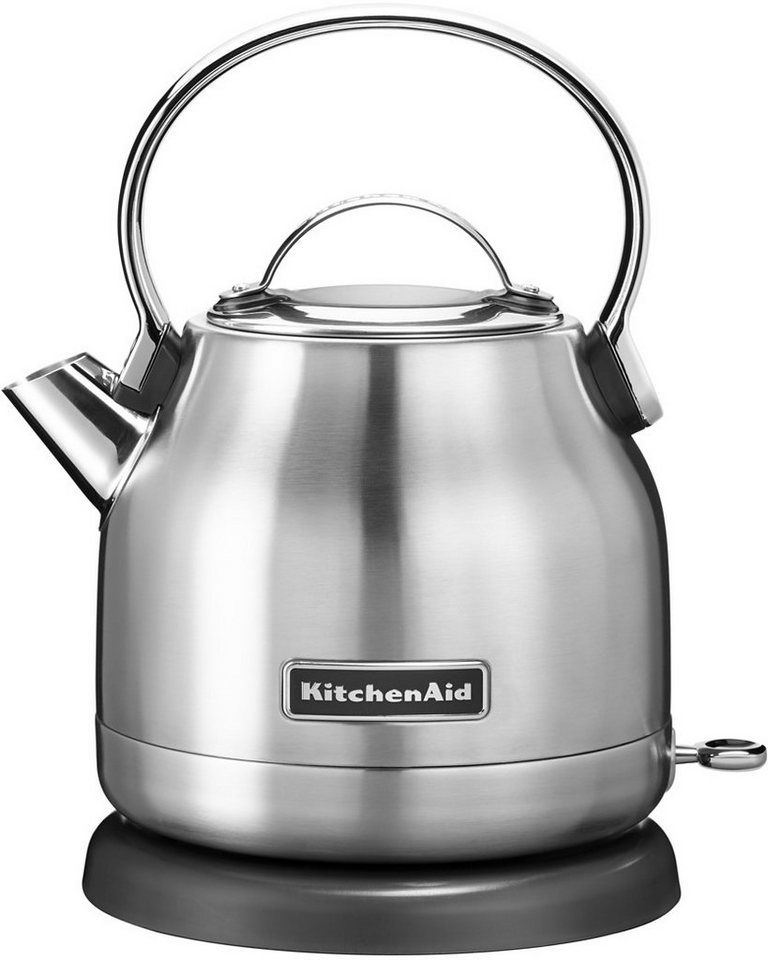 KitchenAid® Wasserkocher »5KEK1222ESX«, 1,25 Liter, 2200 Watt, edelstahl in edelstahl