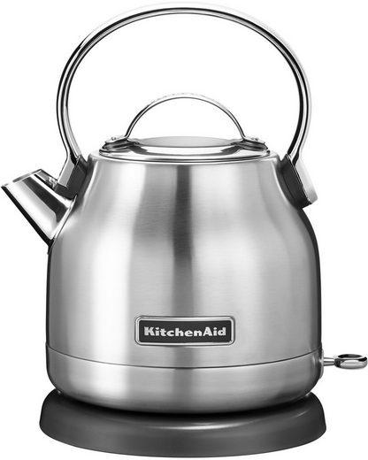 KitchenAid Wasserkocher 5KEK1222ESX, 1,25 l, 2200 W, edelstahl