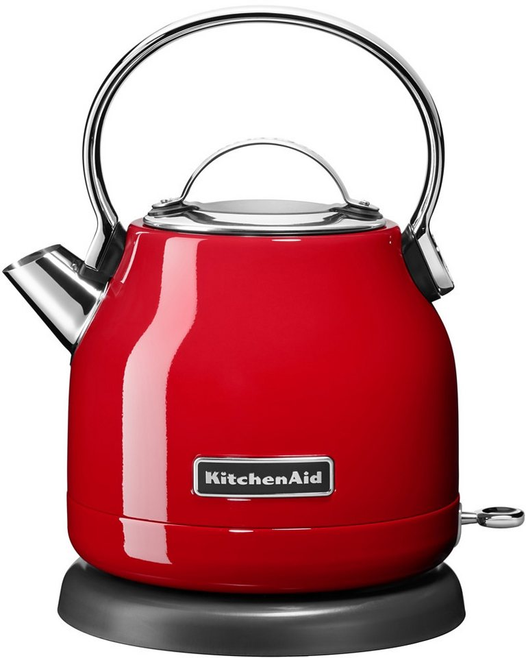 kitchenaid wasserkocher 5kek1222eer 1 25 liter 2200 watt empire rot online kaufen otto. Black Bedroom Furniture Sets. Home Design Ideas