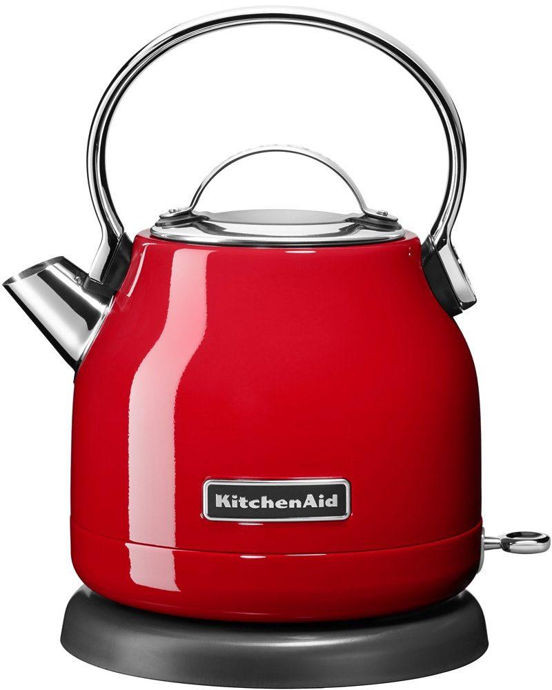 KitchenAid® Wasserkocher »5KEK1222EER«, 1,25 Liter, 2200 Watt, empire rot