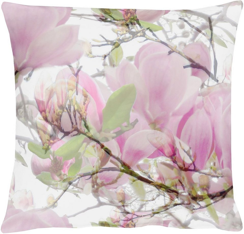 Kissenhüllen, Apelt, »2106 Magnolie« (1 Stück) in rosetöne