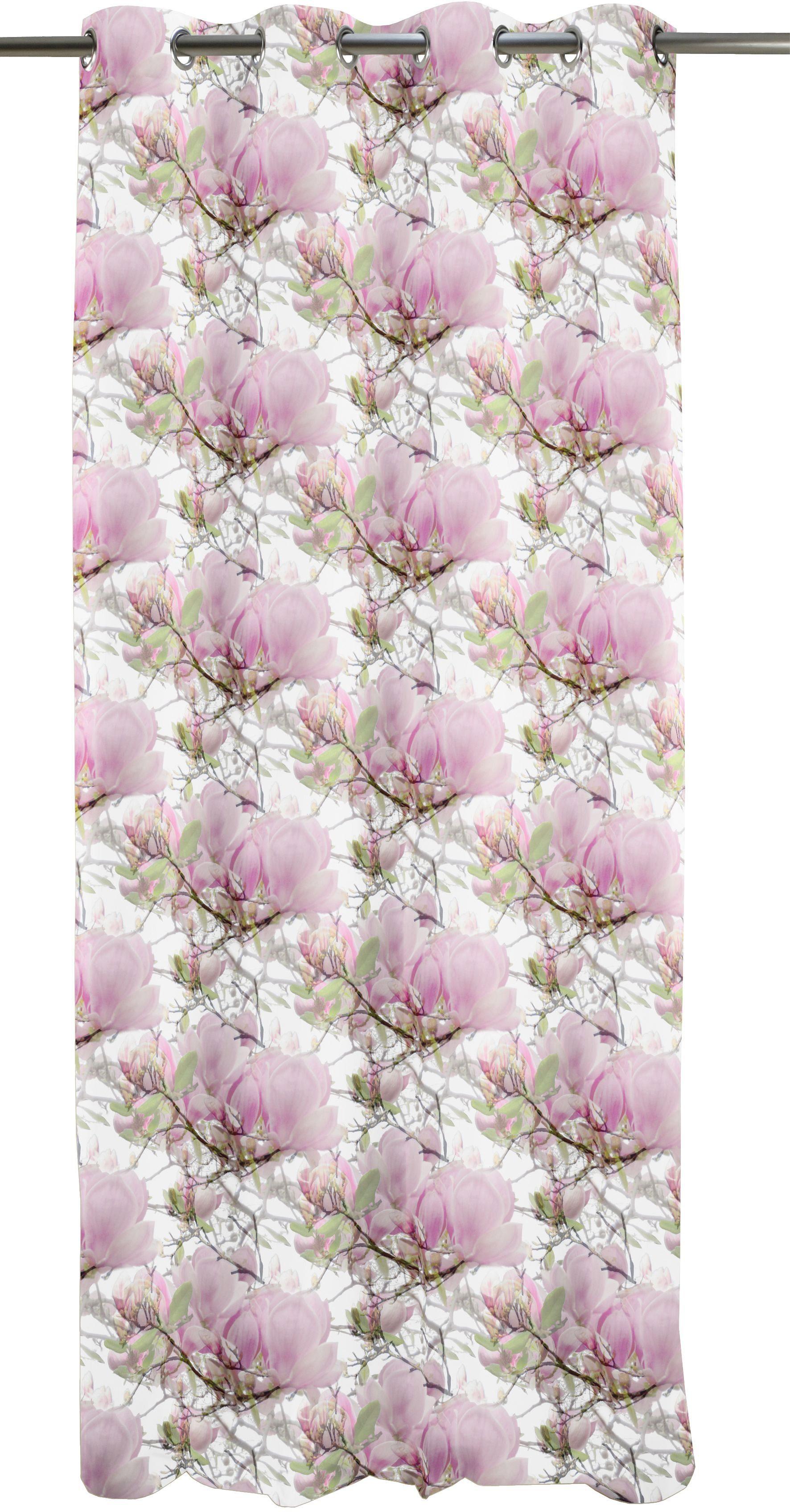 Vorhang, Apelt, »2106 Magnolie«, mit Ösen (1 Stück)