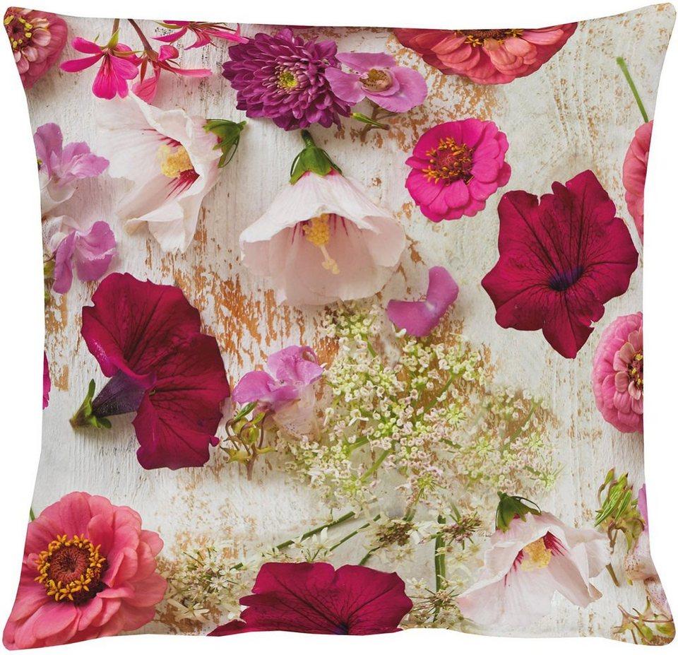 Kissenhülle, Apelt, »3052 Sommerblüten« in bunt
