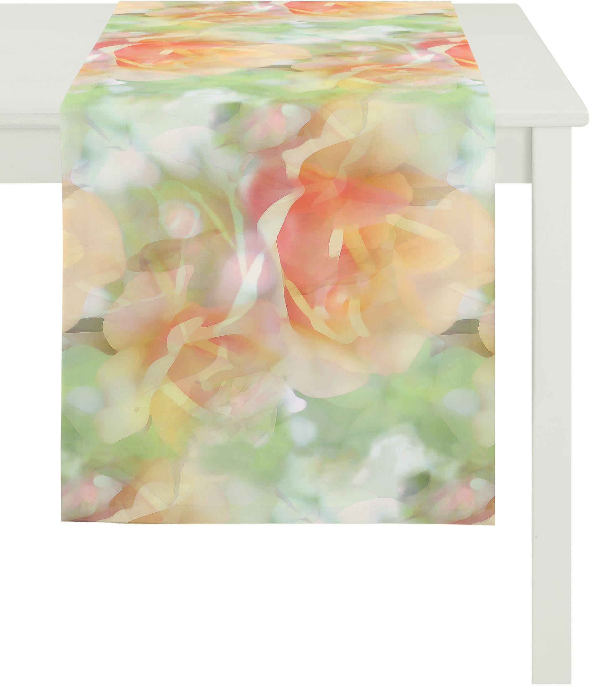 Tischläufer, Apelt, »2108 Aquarell Rose«