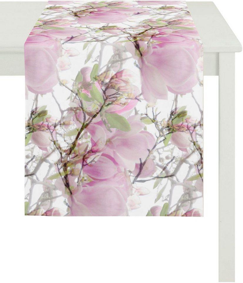 Tischläufer, Apelt, »2106 Magnolie« in rosetöne