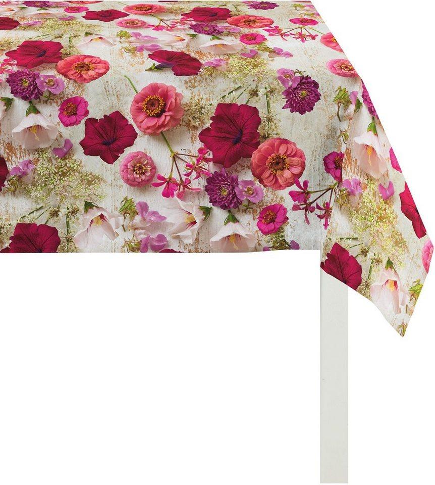Tischdecke, Apelt, »3052 Sommerblüten« in bunt