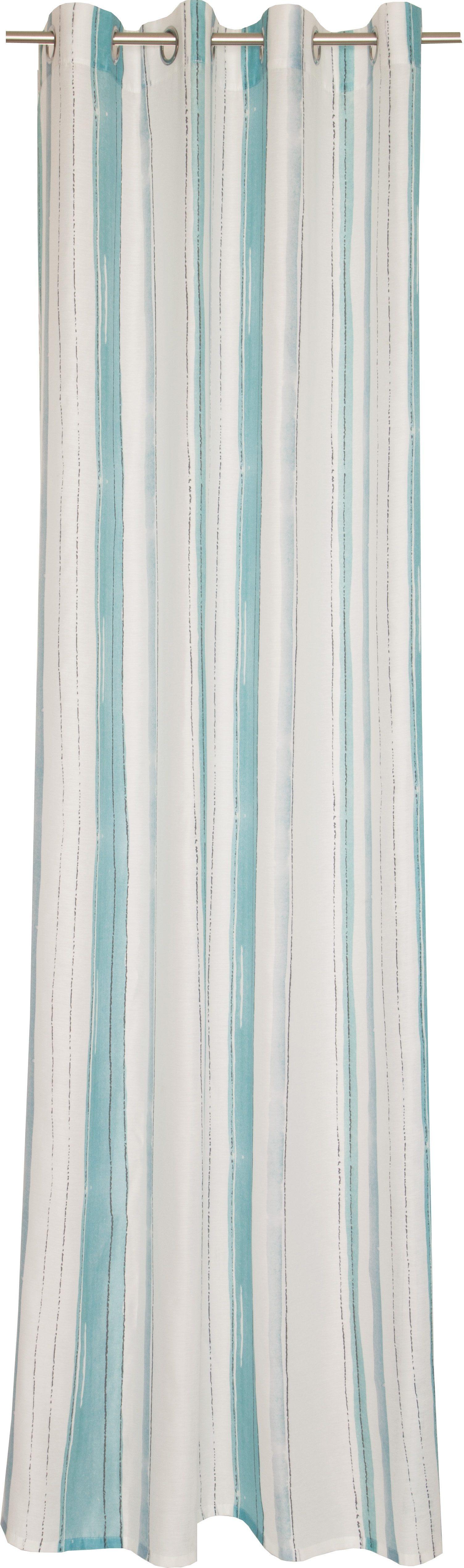 Vorhang, Esprit, »Silky«, mit Ösen (1 Stück)
