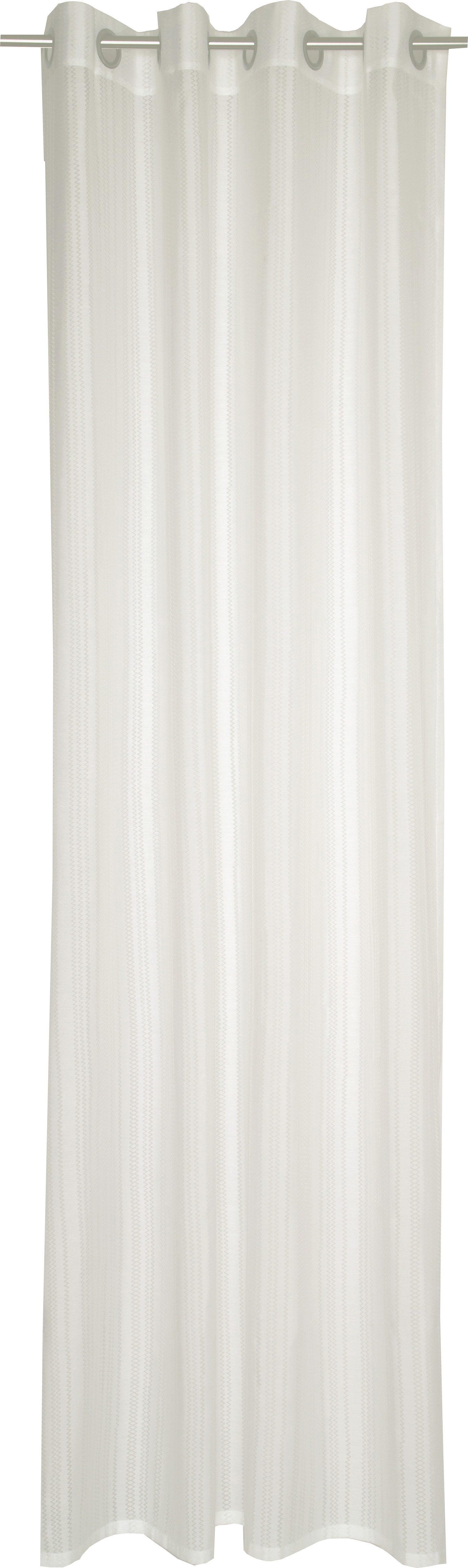 Vorhang, Esprit, »Coastline Zack«, mit Durchzuglöchern (1 Stück)