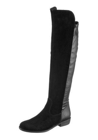 TAMARIS Ilgaauliai batai virš kelių