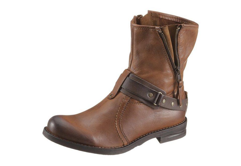 Buffalo London Boots im Used Look in braun