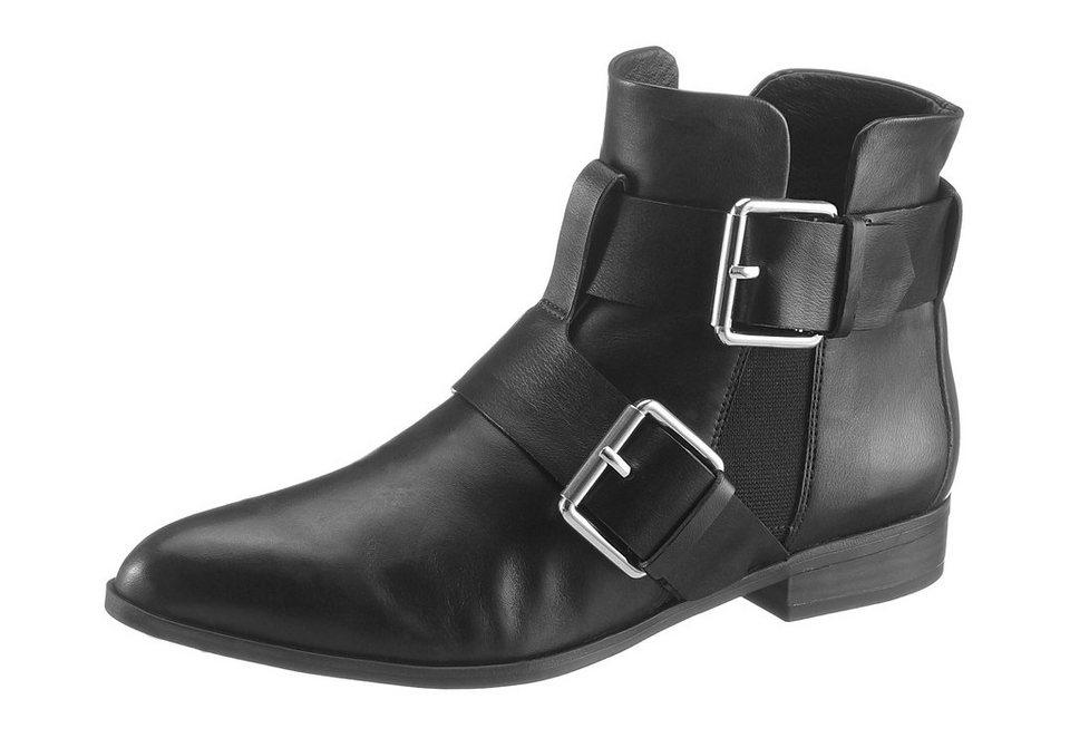 Tamaris Stiefelette in spitzer, schmaler Form in schwarz