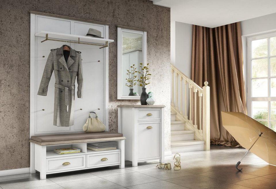home affaire garderobe chateau online kaufen otto. Black Bedroom Furniture Sets. Home Design Ideas