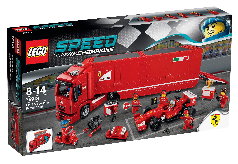 F14 T & Scuderia Ferrari Truck, (75913), »LEGO® Speed Champions«, LEGO®