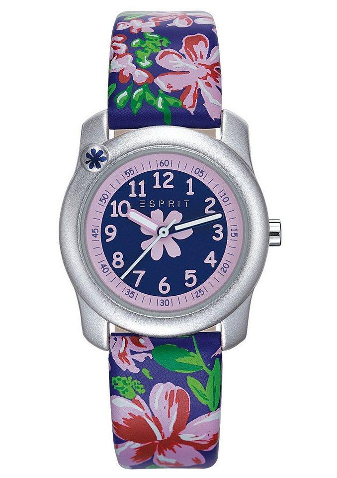 """ESPRIT, Armbanduhr, """"ESPRIT-TP10834 PURPLE, ES108344001"""" in blau-bunt"""
