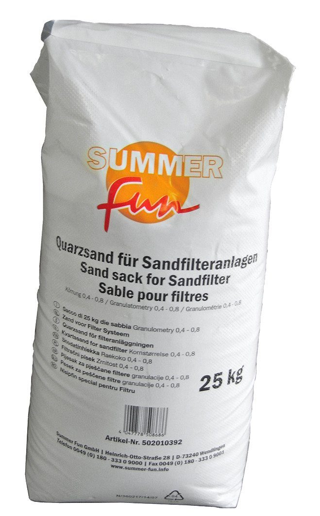 SUMMER FUN Quarzsand , 25 kg