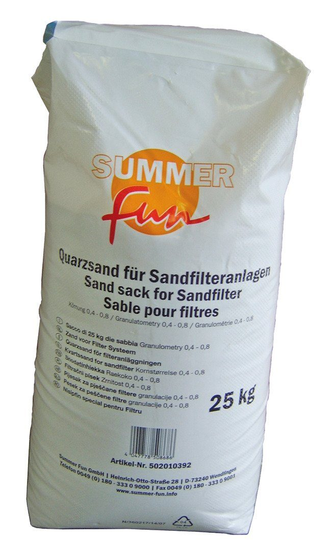 SUMMER FUN Quarzsand , 2 x 25 kg