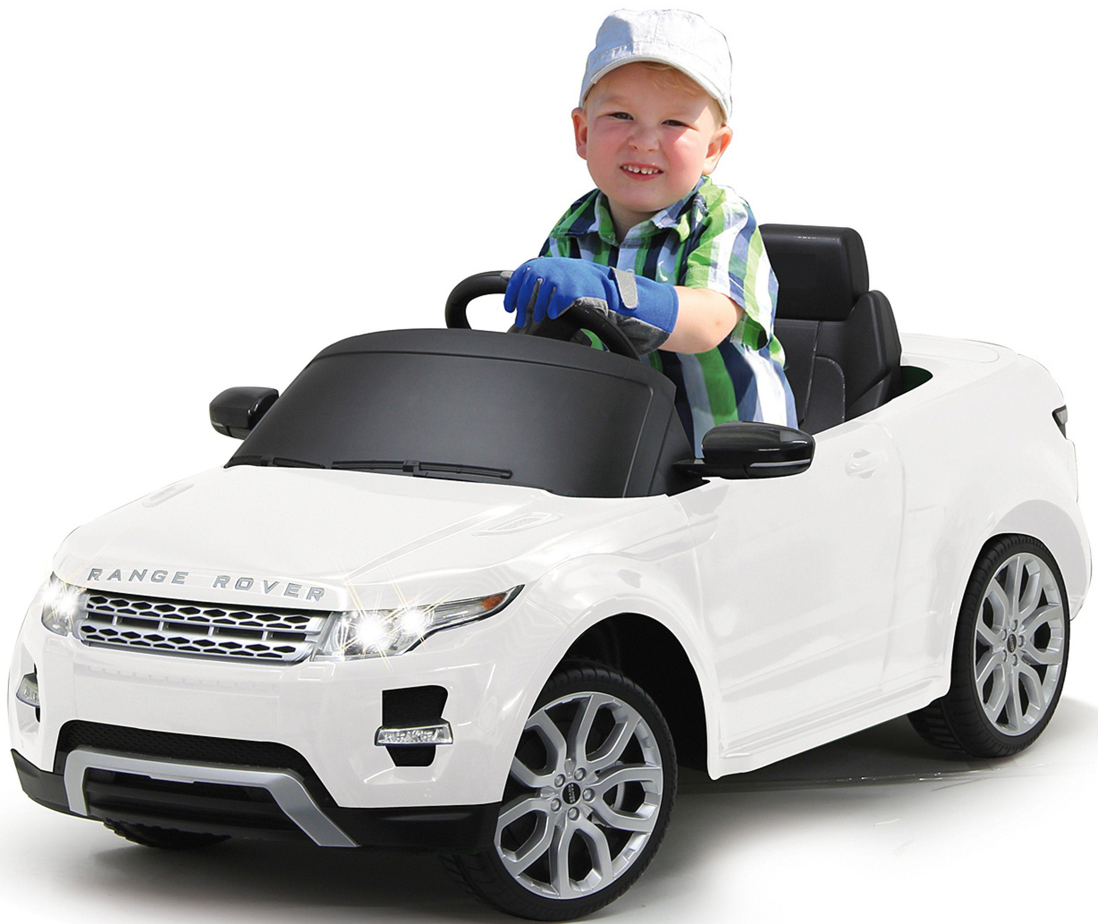 JAMARA KIDS Elektroauto »Ride-On Land Rover Evoque«, weiß, inkl. Fernsteuerung