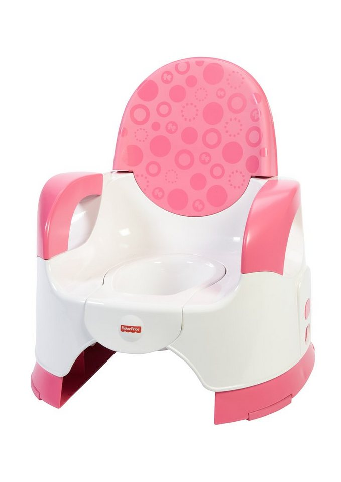 fisher price kindertoilette komfort t pfchen pink online kaufen otto. Black Bedroom Furniture Sets. Home Design Ideas