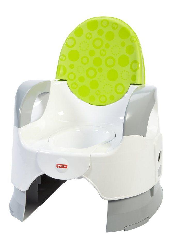 Fisher Price, Kindertoilette, »Komfort Töpfchen, grün«