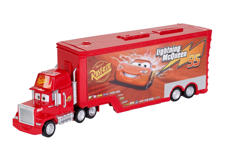 Mattel, LKW mit zwei Spielmöglichkeiten, »Disney Pixar Cars - Mack Transporter Spielset«