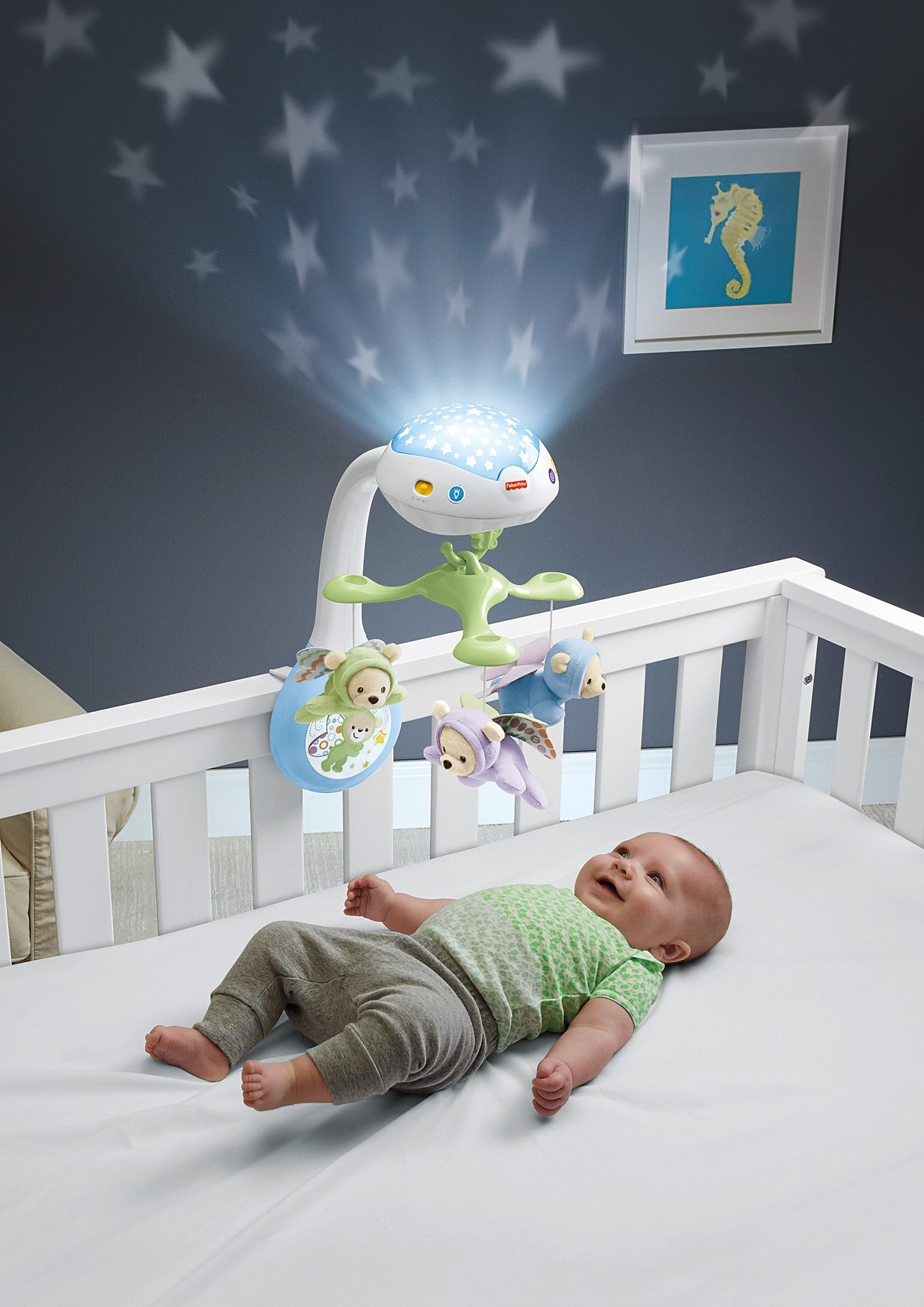 Fisher Price, Mobile mit Licht und Melodien, »Traumbärchen Mobile«