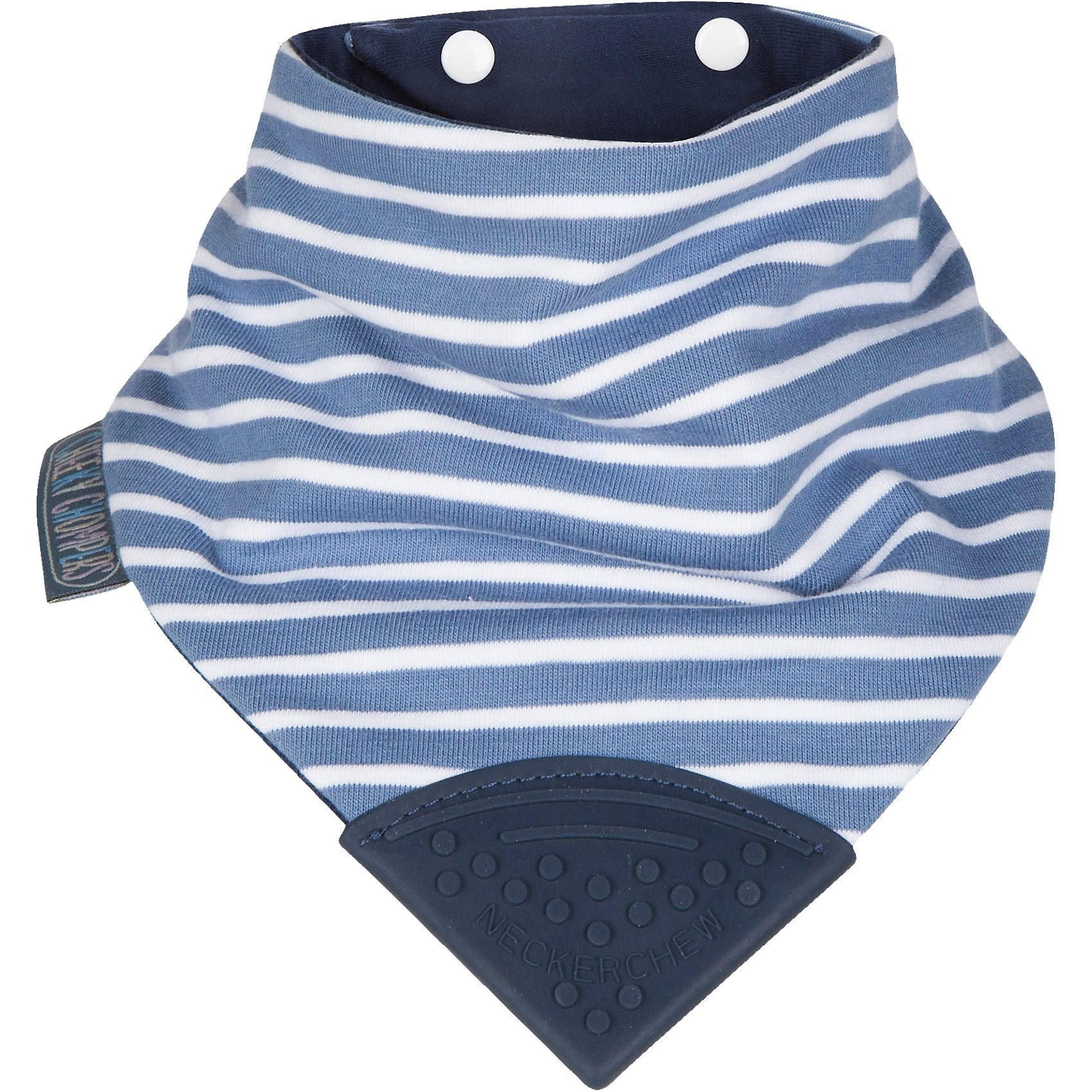 Neckerchew Dreieckstuch mit Beißecke, Preppy Stripes