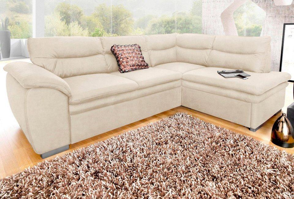 polsterecke cotta wahlweise mit bettfunktion otto. Black Bedroom Furniture Sets. Home Design Ideas
