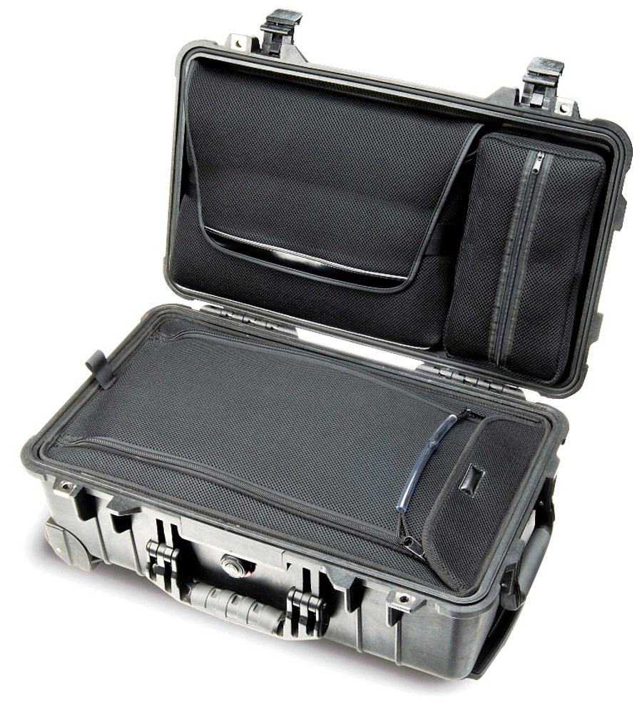 Peli Campingtruhe & -Kiste »Box 1510 Laptop Overnight Case schwarz«
