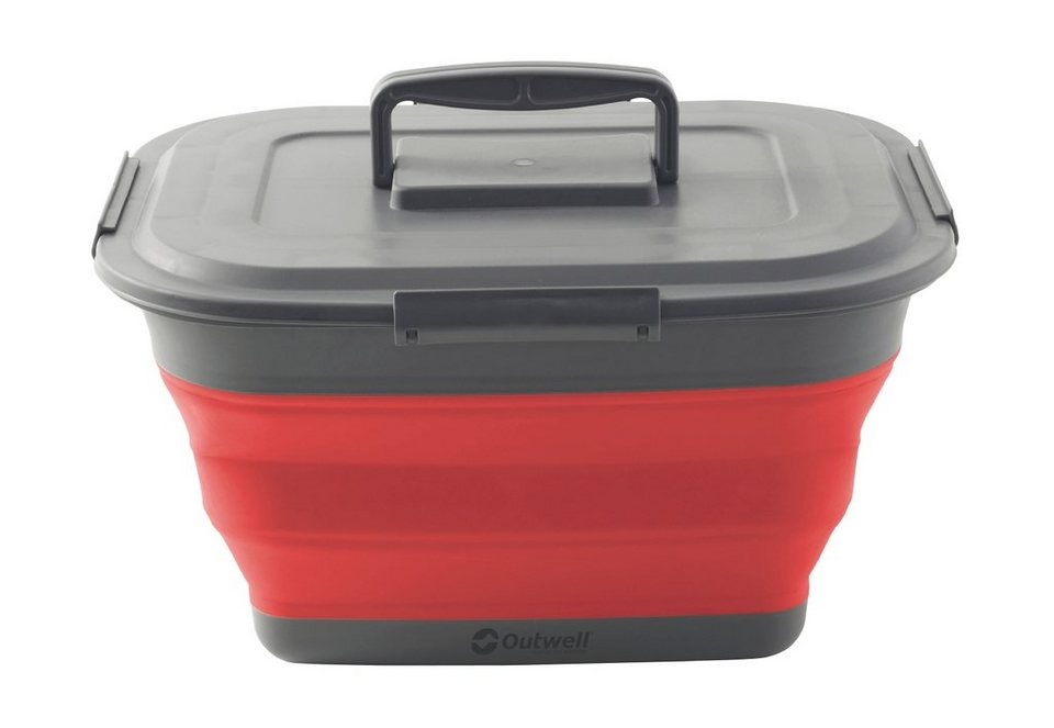 Outwell Campingtruhe & -Kiste »Collaps Storage Box L red« in rot